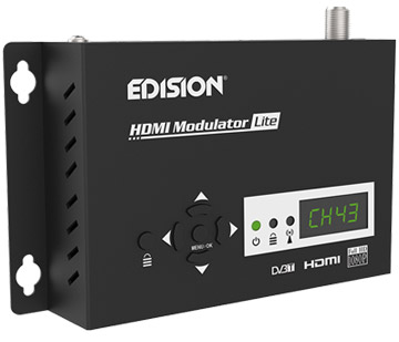 Edision Single HD Input Digital DVB-T MPEG4 Modulator Lite