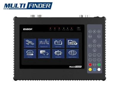 Edision MultiFINDER Satellite, Terrestrial, Cable & CCTV Testing Instrument