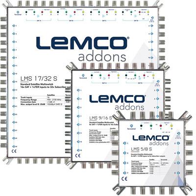 Νέα σειρά Πολυδιακοπτών LMS από την LEMCO