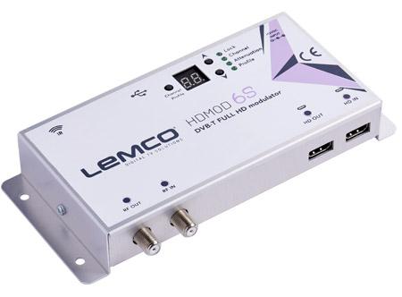 LEMCO® HDMOD-6S High Definition Modulator