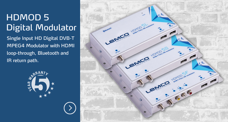 HDMOD-5 Digital Modulators by LEMCO