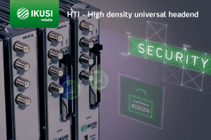 IKUSI® IKUhot – HTI Bundled Headends