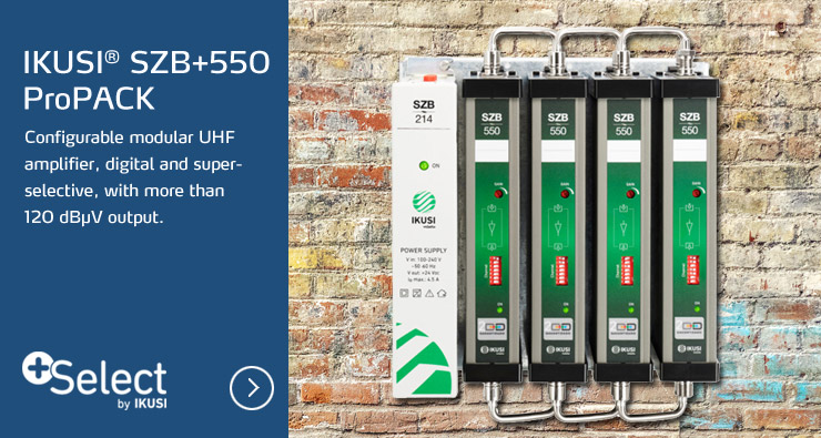 IKUSI® SZB+550 ProPACK
