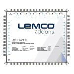 LEMCO® LMS-1724S Multiswitch 17x24, External PSU (included)