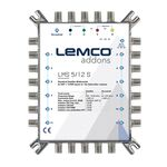 LEMCO® LMS-512S Multiswitch 5x12, External PSU (included)