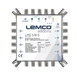 LEMCO® LMS-58S Multiswitch 5x8, External PSU (included)