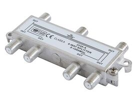 2246-A 6-Way CATV Splitter 5-1000 MHz with Ground Block, Class A