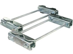 Fenger DRS-6025 Double Mast Clamp, Pair
