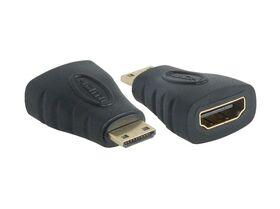 LEDINO® Mini-HDMI (Type C) Male to HDMI (Type A) Female Adapter