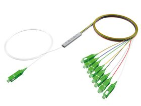 OPTON® PLC 1x8 Splitter Blockless, SC/APC connectors