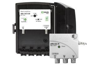 IKUSI® JSBA103-C48 Mast Amplifier Kit