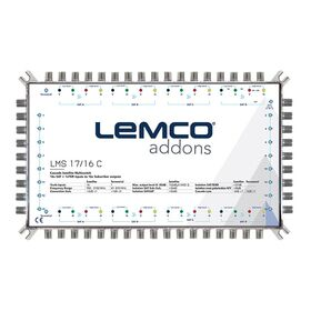 Lemco LMS-1716S Multiswitch 17x16, External PSU (included)